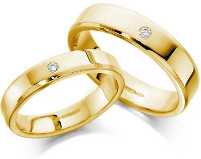 nhẫn cưới thuộc kim - nhan cuoi menh kim - Chọn nhẫn cưới, nhẫn đính hôn theo phong thủy