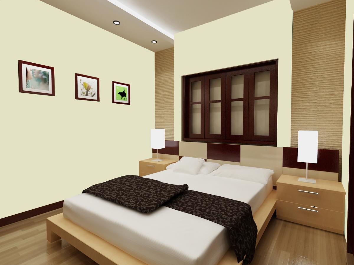 Phòng ngủ bố trí chuẩn phong thủy cho mệnh Thủy