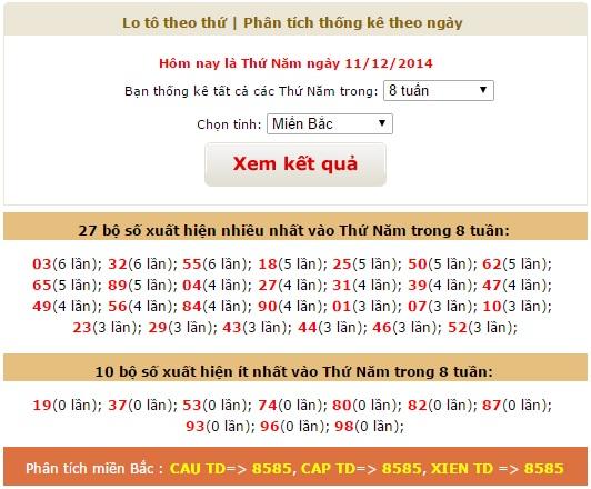 xsmb-thu-5-thong-ke-ket-qua-xo-so-mien-bac-thu-5-ngay-11122014