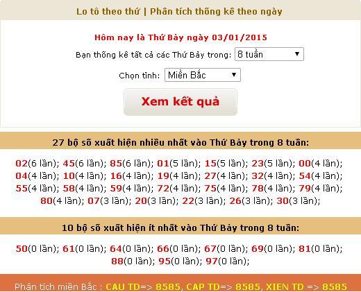 xsmb-thu-7-thong-ke-ket-qua-xsmb-thu-7-ngay-3-1-2014
